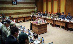 دیدار هیئت نظامی ایران با رئیس مجلس عمان